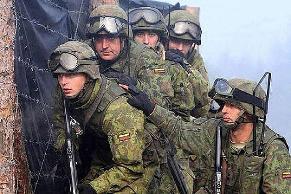 Литовские военные вместе с натовскими союзниками участвуют в программе подготовки украинской армии. Фото: с сайта arms-expo.ru