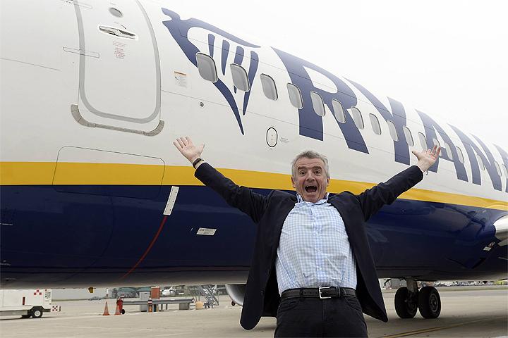 Глава авиакомпании-лоукостера Ryanair Майкл О`Лири.