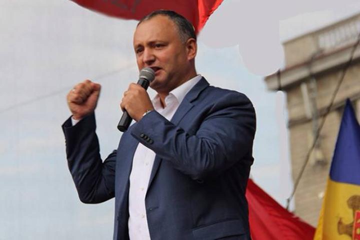 Игорь Додон — новый президент Молдовы