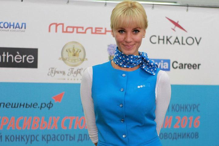 Ставропольчанка Мария Школьная сопровождает пассажиров в полетах уже 5 лет. Фото: vk.com/topstewardess
