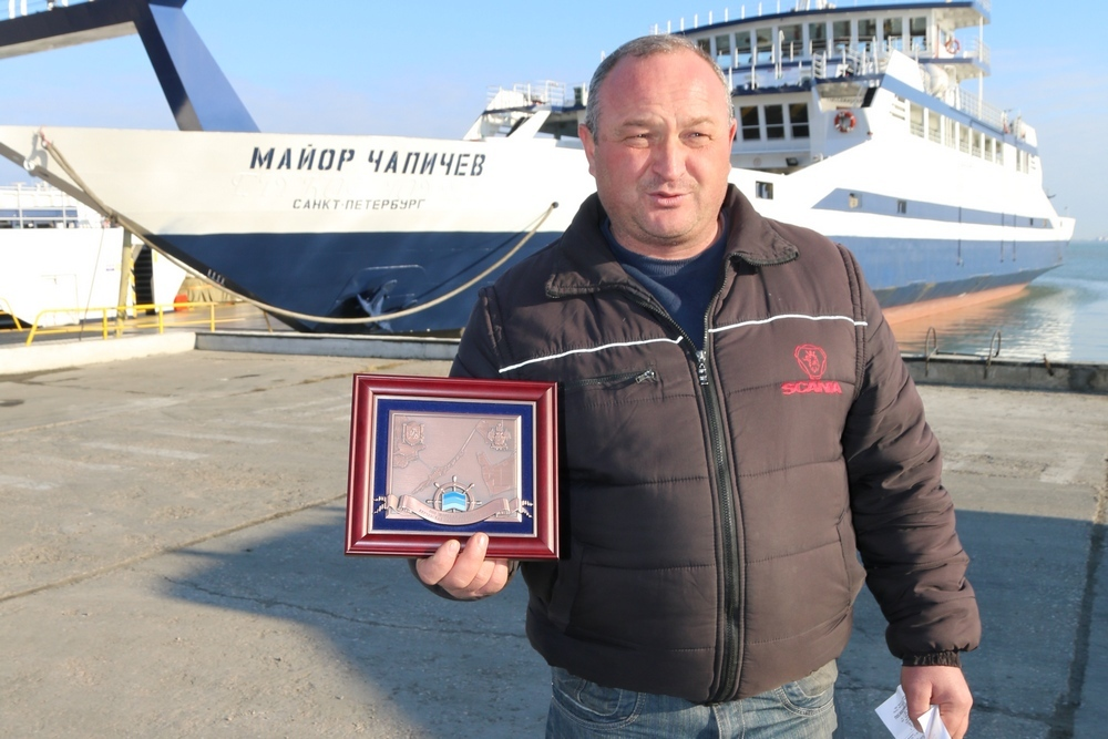 Керченская паромная переправа: есть 6 млн. пассажиров!