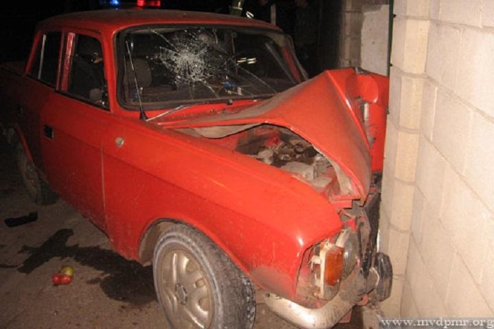 В аварии пострадало четверо человек (Фото: пресс-служба МВД Приднестровья).