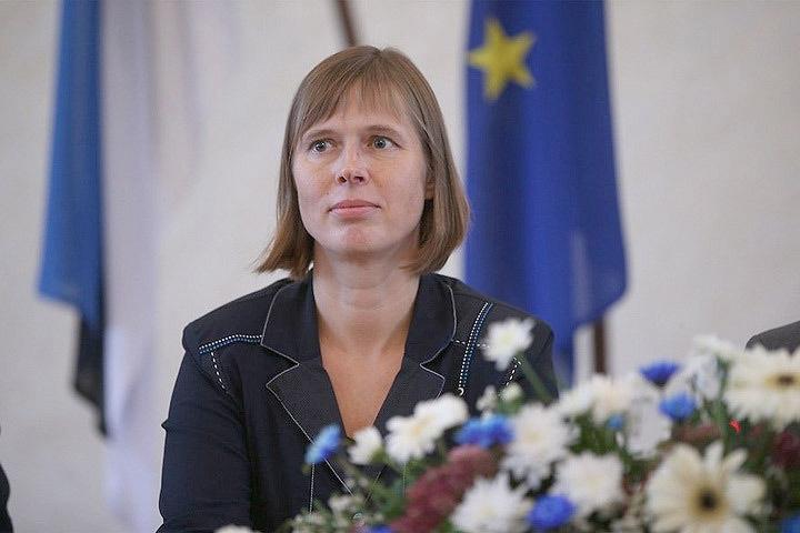 Керсти Кальюлайд стала первым президентом Эстонии, отказавшимся от благодарственного богослужения в день принесения присяги. Фото: с сайта kremlinpress.com