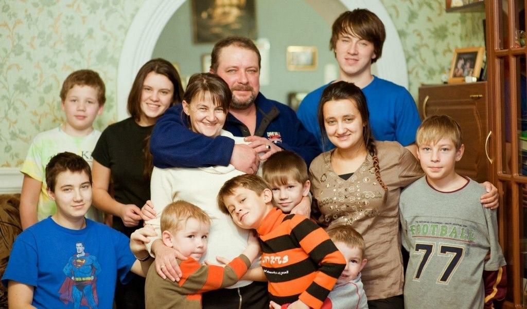 Семья Билецких. Фото Елены Гончаровой.