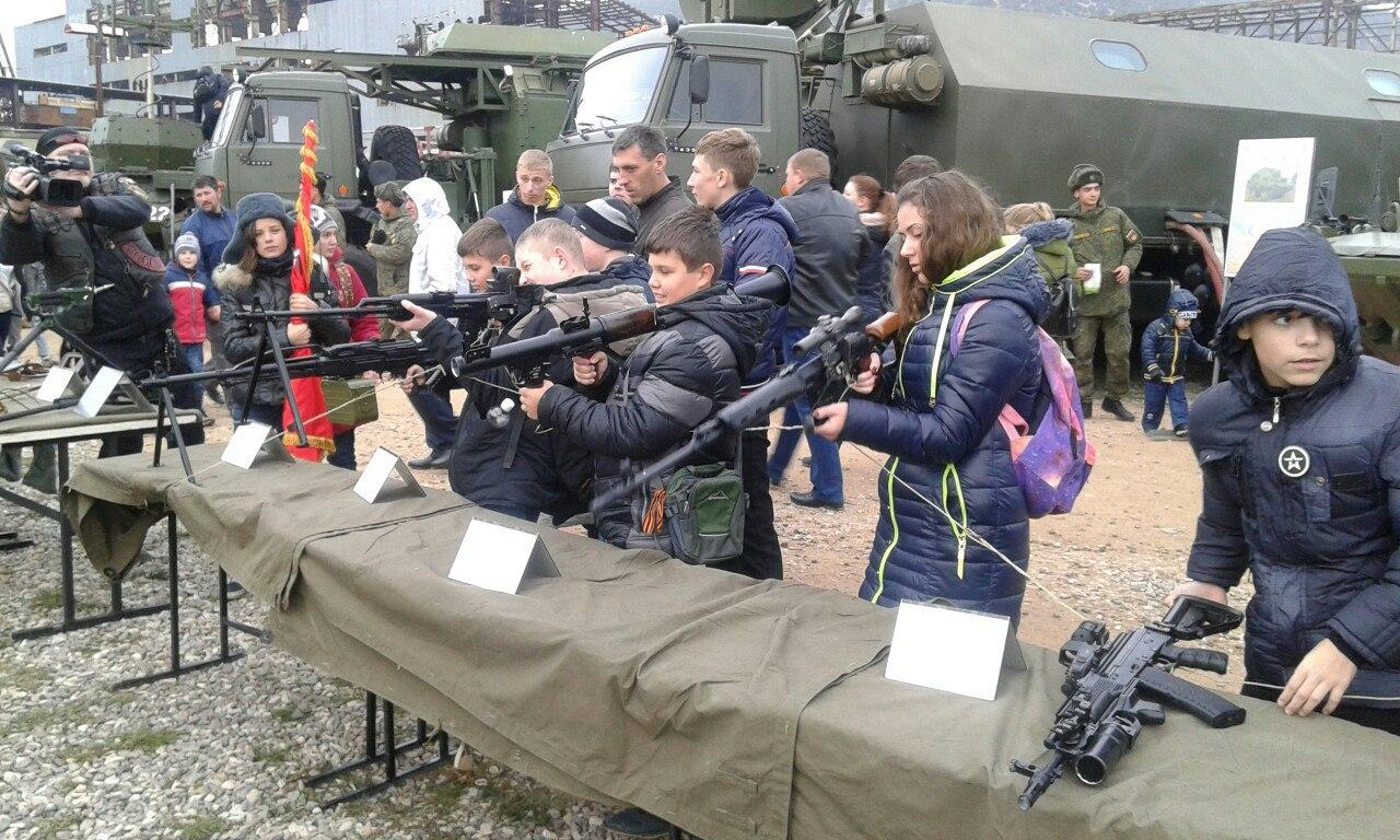 Севастопольские школьники иартековцы сыграли в«Зарницу»
