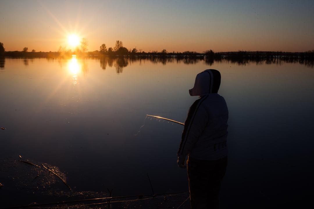 Фото из архива КП-Тюмень. Любители зимней рыбалки также уже достали свои снасти.