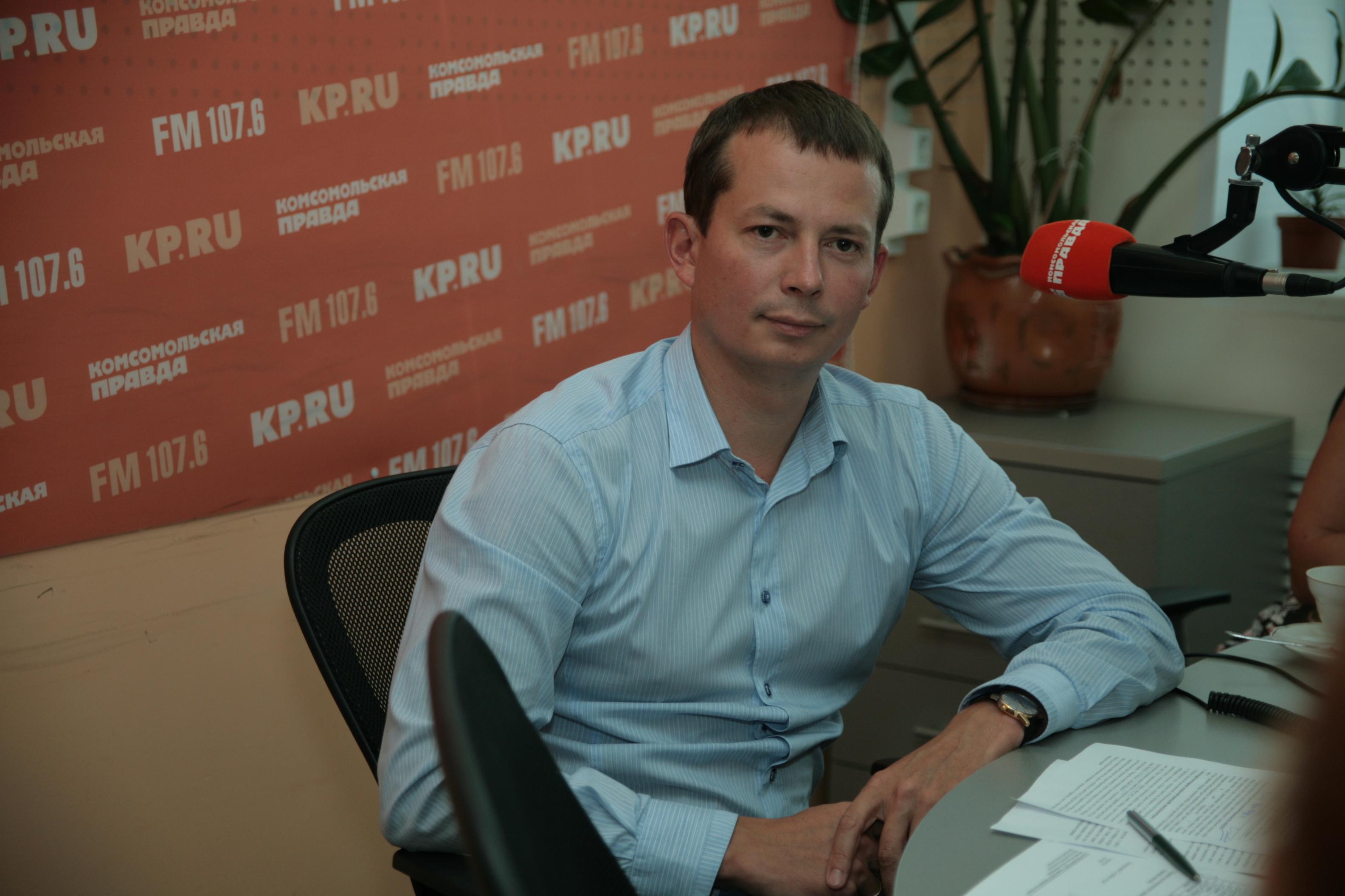 Генеральный директор МУП «ИжГЭТ» Андрей Батов