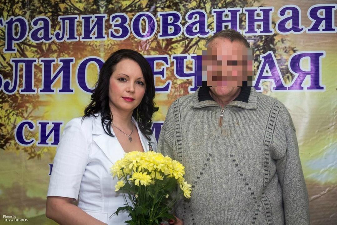 Поклонник сфотографировался с Ольгой на одном из вечеров