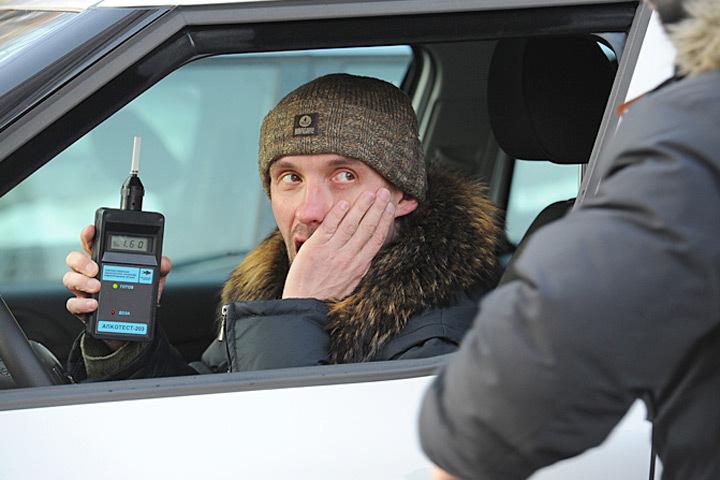 Датская полиция начала общенациональную кампанию «Готов дуть в алкометр».