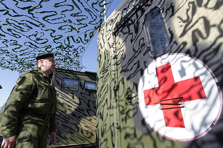 В Сирию перебрасывается МОСН Минобороны РФ. Фото ИТАР-ТАСС/ Максим Мельников