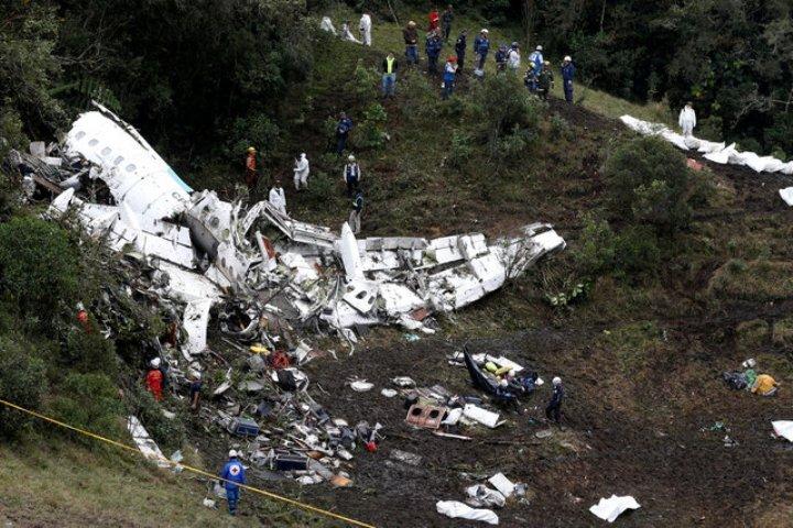 Самолет, принадлежащий боливийскому авиаперевозчику Lamia, выполнял чартерный рейс в Медельин
