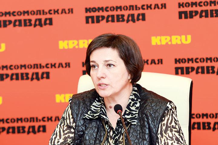 """Марина Антимонова уверена: нужно делать все, чтобы женщины не откладывали рождение ребенка """"на потом""""."""