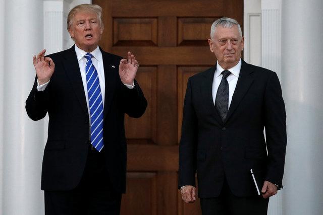 Дональд Трамп встречался с отставным генералом морской пехоты Джеймсом Матиссом пару недель назад