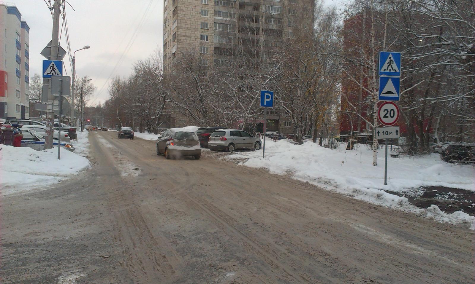 Милиция разыскивает автомобиль, сбивший школьницу напешеходном переходе