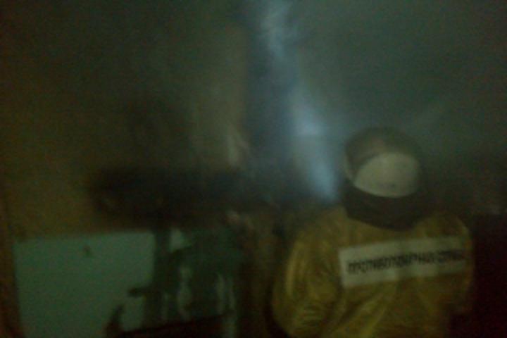 Курская область. Вгорящем доме обнаружили тело 76-летней женщины