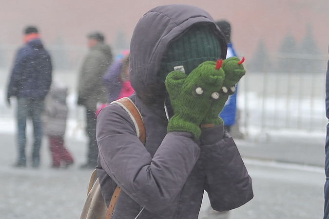 ВВолгоградской области объявлено штормовое предупреждение— Метель иветер