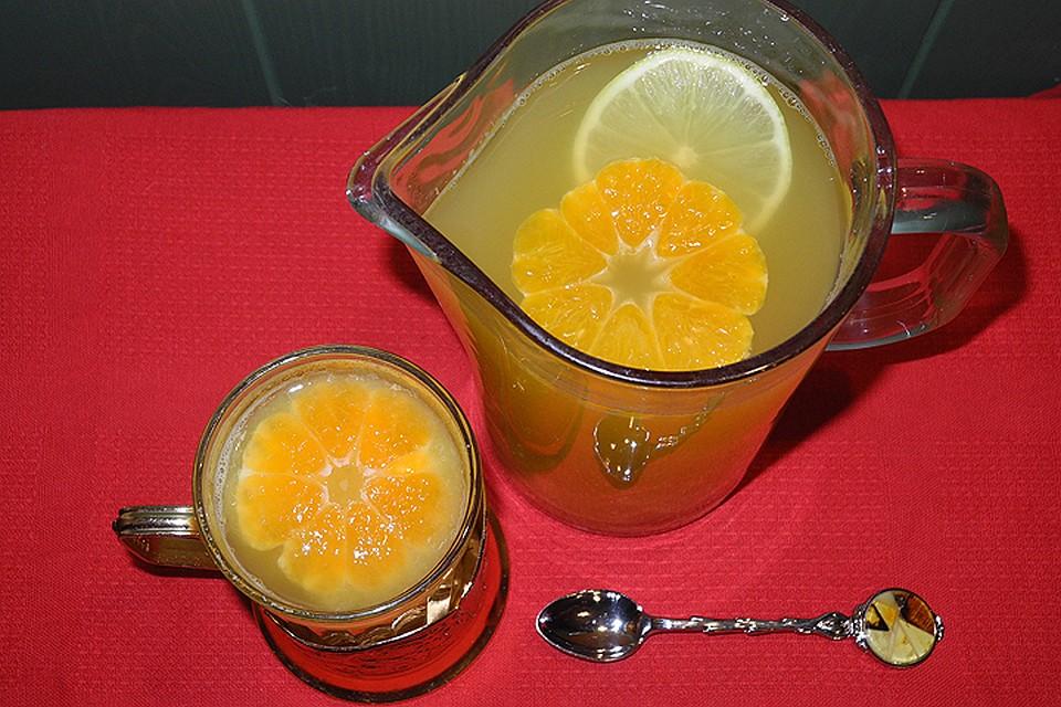 Ульяна Скойбеда нашла долгожданную замену кофе и делится несложным рецептом фруктового чая.