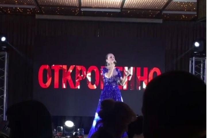 Эстрадная певица Слава выразила любовь кСанкт-Петербургу внецензурной форме