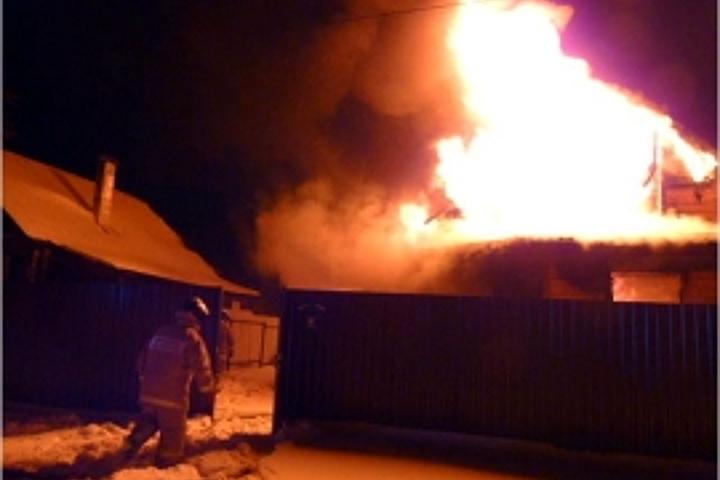 13декабря вКимрском районе Тверской области произошел пожар