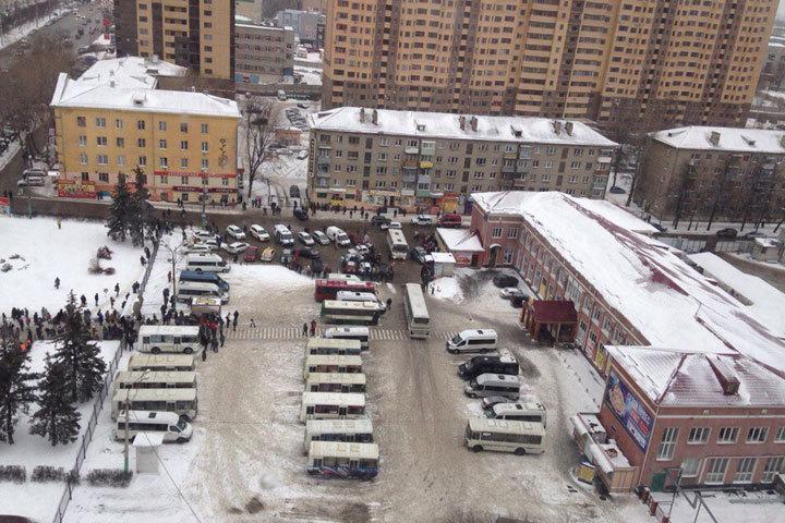 ВВоронеже на основном автовокзале спецслужбы искали взрывное устройство