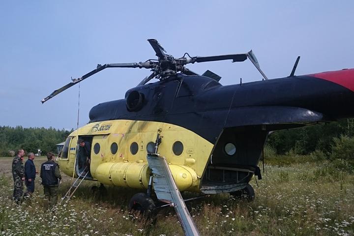 Дело окрушении вертолета Ми-8 вХабаровском крае направили всуд