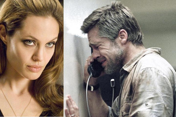 """По словам близких, Брэд постоянно звонит Анджелине, но она не отвечает на его звонки. Фото: кадр из фильма """"Особо опасен""""."""