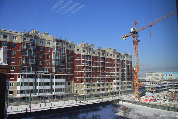 Всего до конца 2016 года в эксплуатацию в Иркутской области ввели более 850 тысяч квадратных метров жилья