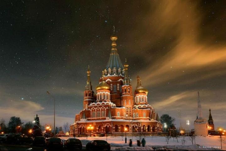 Ночные рождественские богослужения пройдут вхрамах Санкт-Петербурга