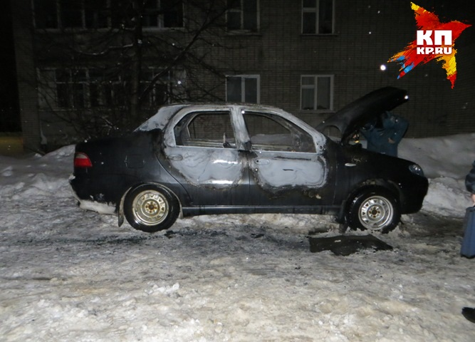 Поджигатель авто схвачен вГлазове