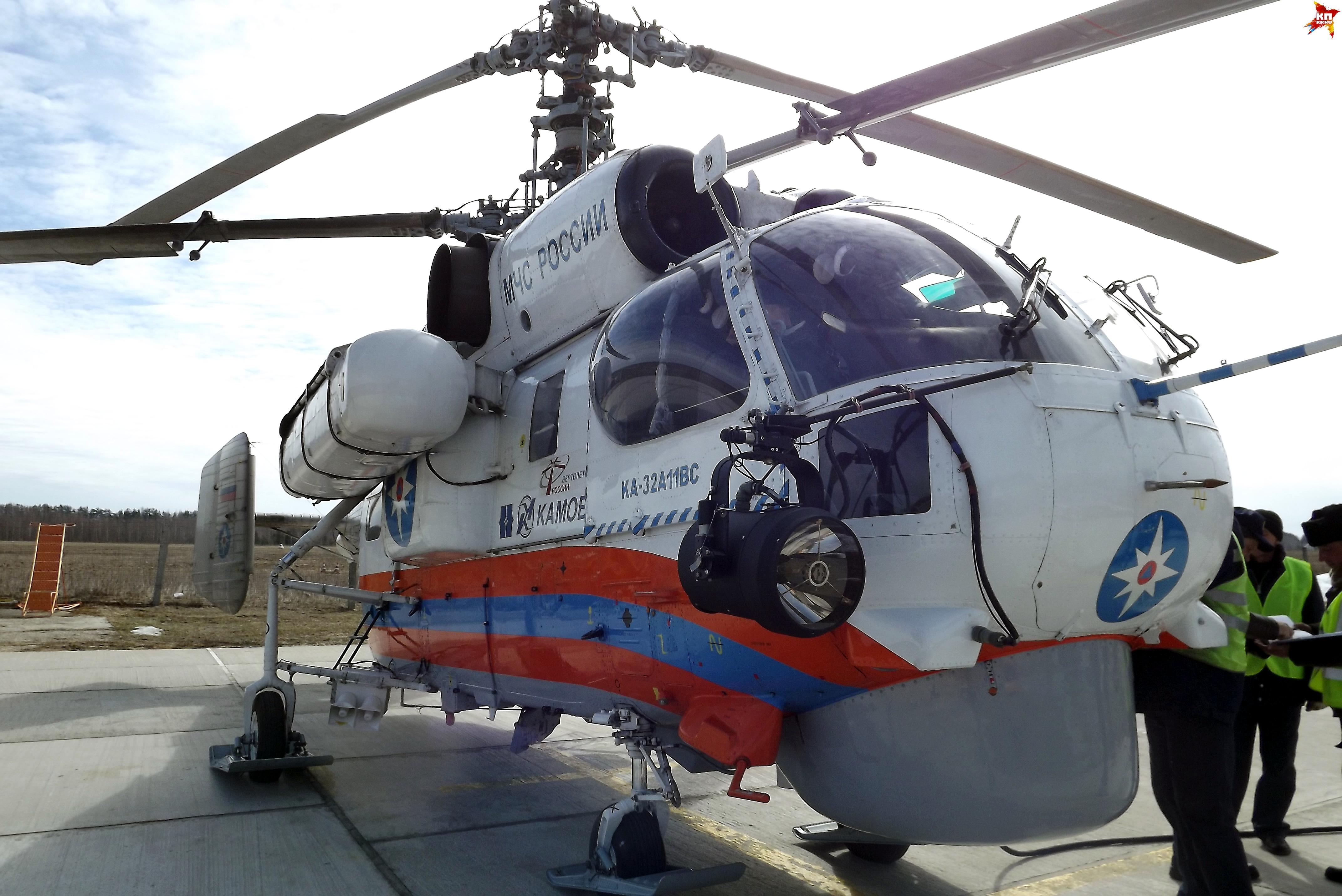 В Тверь на вертолете доставили пенсионерку