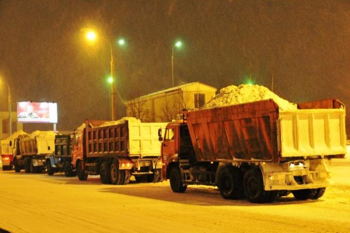 Резервный снегоотвал откроют под Томском.