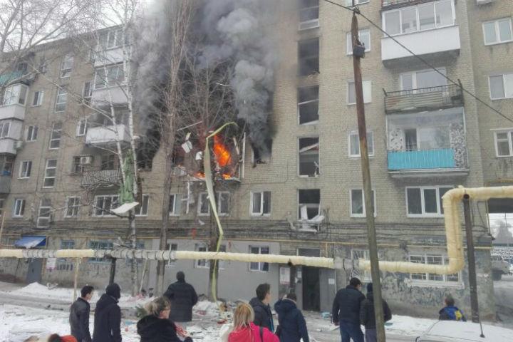 В саратовской шестиэтажке прогремел взрыв. Фото: Saratov-room.