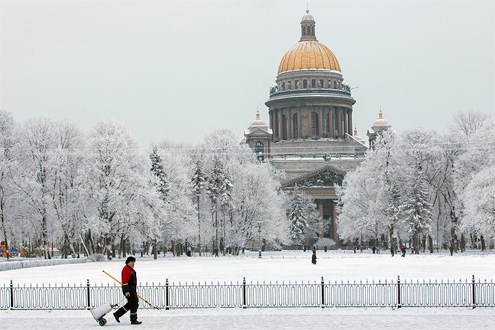 Исаакиевский собор Санкт-Петербурга. ФОТО КУЛИКОВ Сергей