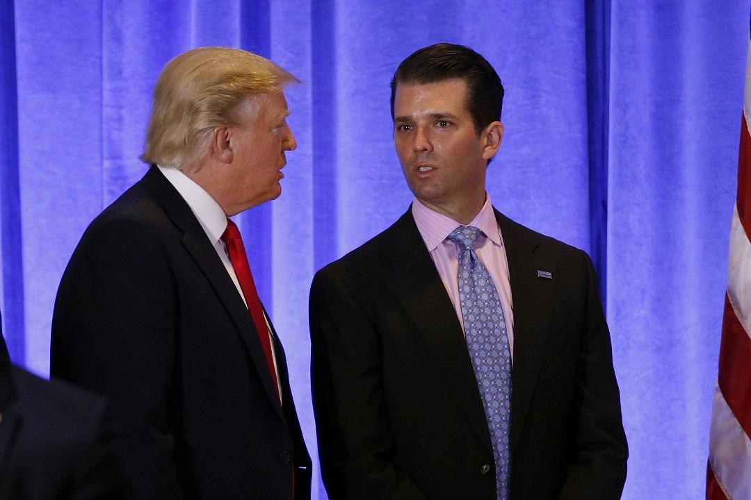 Дональд Трамп и его сын, Дональд Трамп-младший