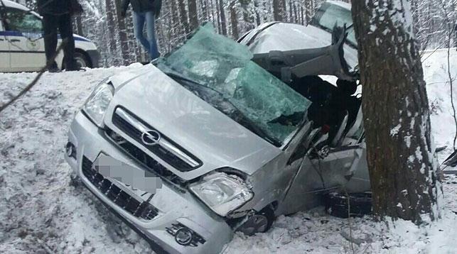 Смертельное ДТП под Минском: погибла женщина, трое детей— в клинике