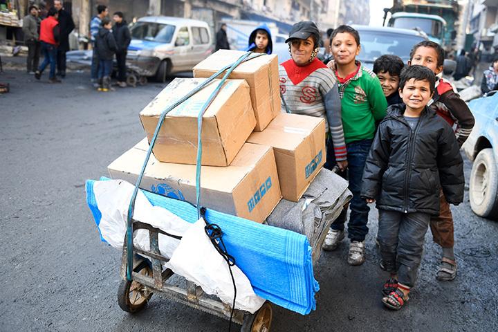 РФвыразила готовность помогать гуманитарным организациям вСирии