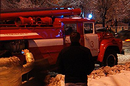 Два девятиэтажных дома насевере Волгограда загорелись практически одновременно