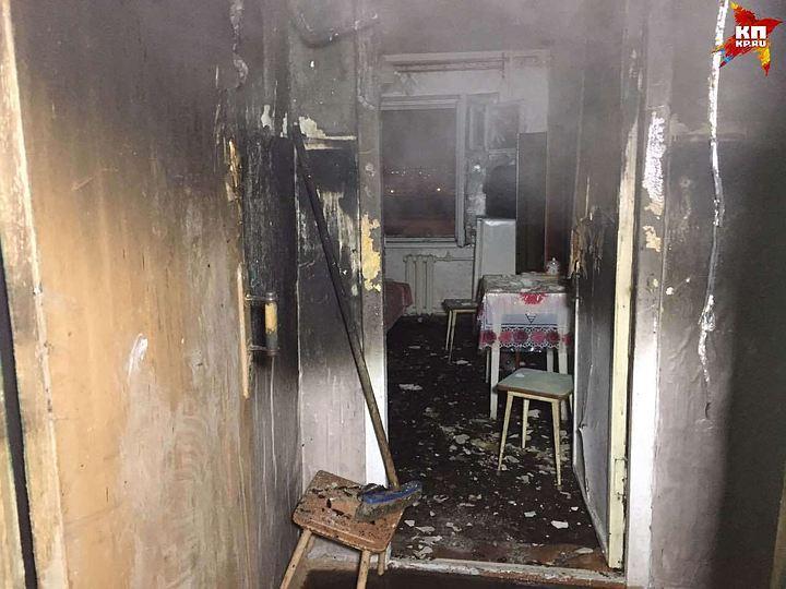 Пенсионер иего племянница погибли напожаре вСаратове