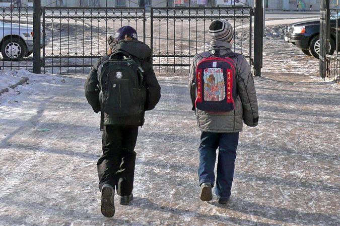 ВТюмени из-за мороза отменили занятия вшколах