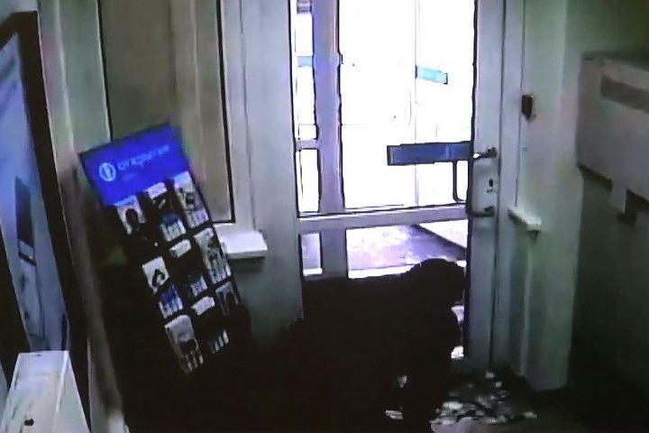 Гражданин Новосибирска сдался милиции после ограбления банка
