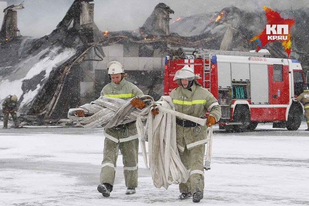 ВКрасноярске вспорткомплексе «Сокол» загорелась сауна