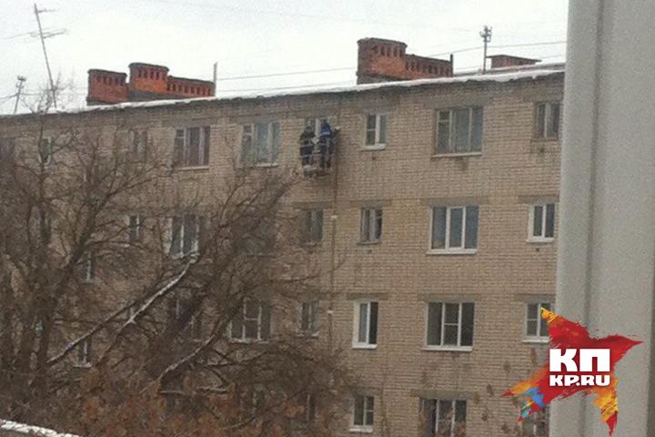 Ограничение надоступ впросевший дом вДзержинске продлено