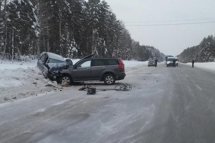ВДТП натрассе Тюмень— Омск погибли два человека