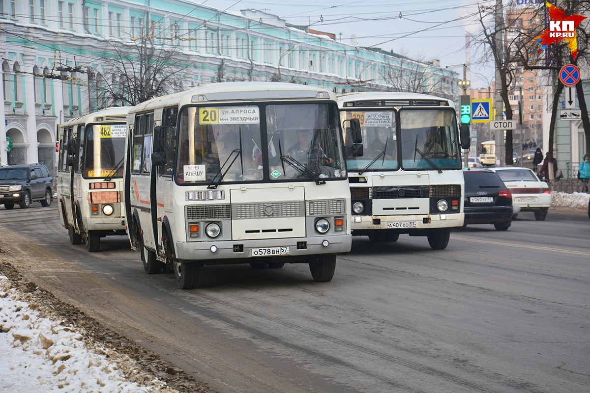 Орловские власти купят новые автобусы на160 млн руб.