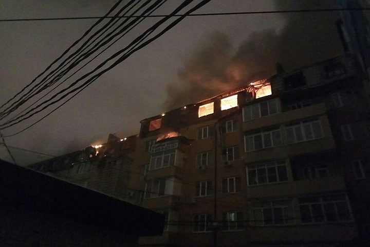 Кондратьев возложил вину запожар вкраснодарской многоэтажке назастройщика