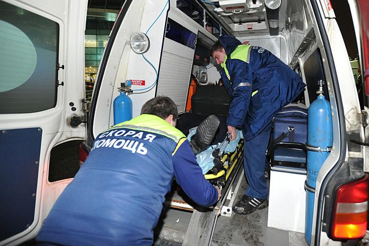 Навостоке столицы столкнулись восемь машин