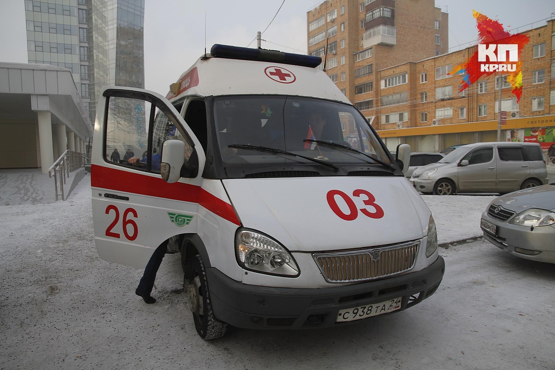 Мужчина сножом и тесаком ранил супругу исоседа вКрасноярске