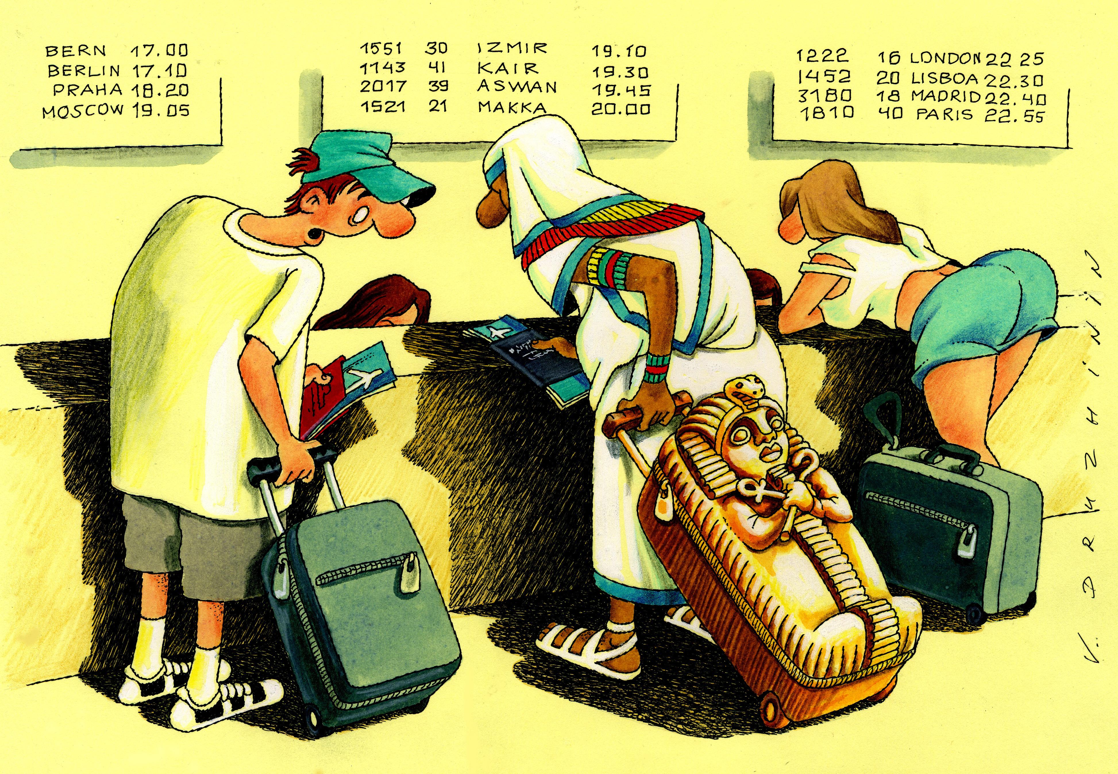 АТОР: россиянам рано пугаться поднятия стоимости виз вЕгипет