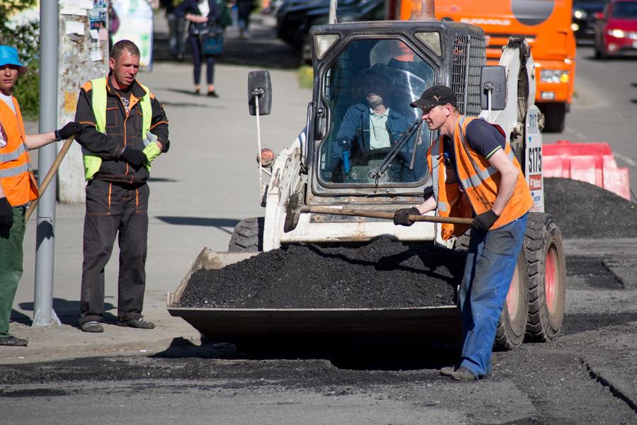Латать ямы вЧелябинске начнут ссередины апреля