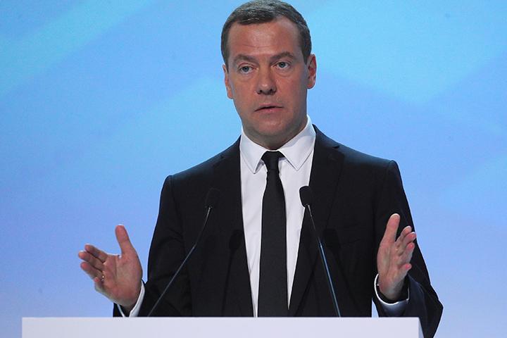 Заявляет Д. Медведев: Российская Федерация справилась скризисом